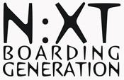 Logo van Next Mountainboards en Flyboards