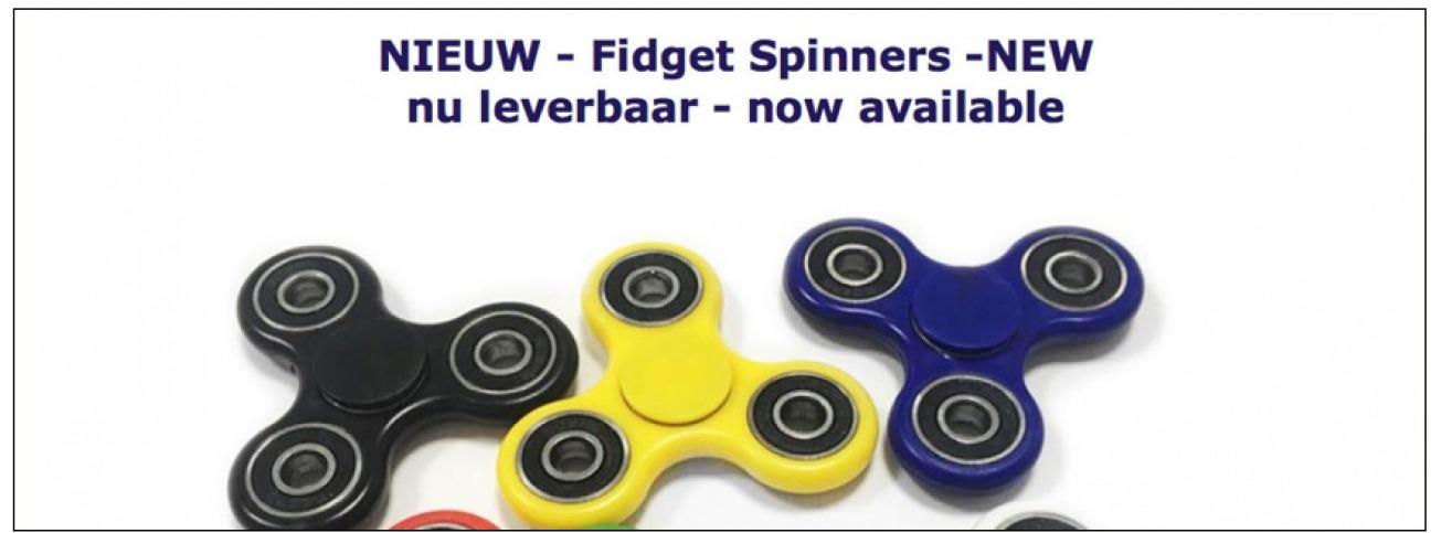Foto van Fidget Spinners de nieuwste rage!