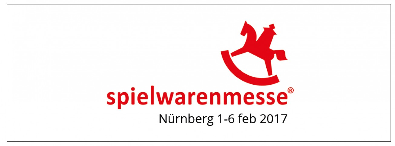 Foto van Skatey op de Spielwarenmesse in Neurenberg Duitsland