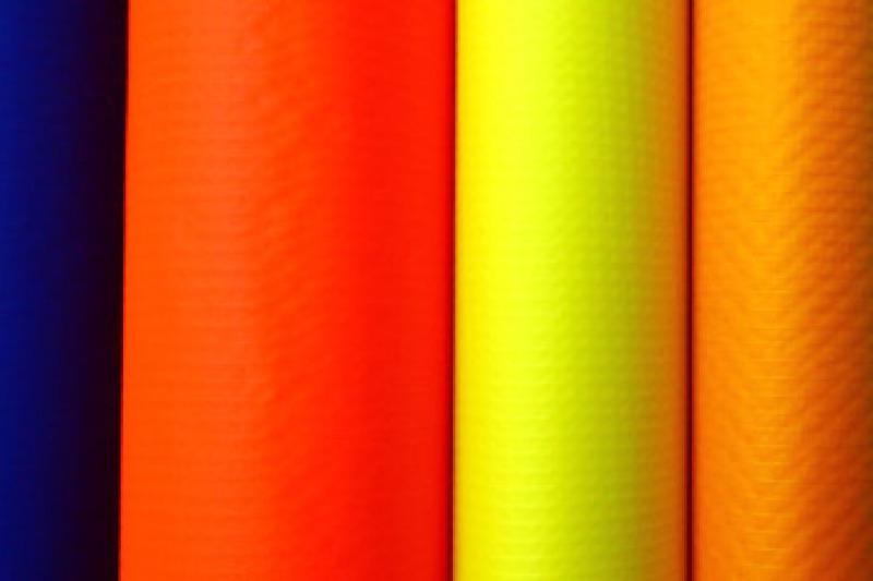 Foto van Fabrics and frames
